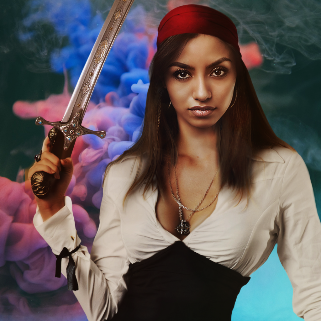 Samara from the pirate fantasy story Macario's Scepter